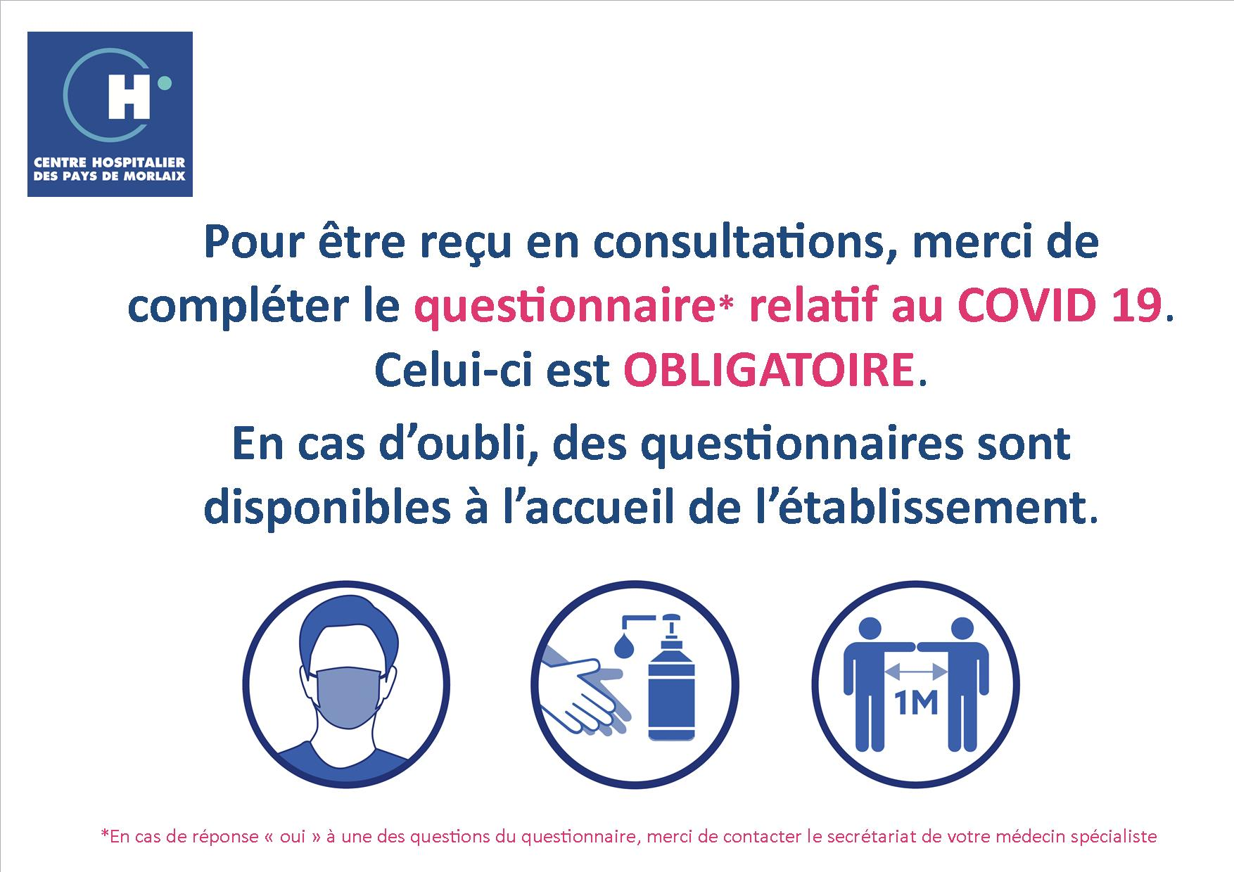 Questionnaire Covid 19