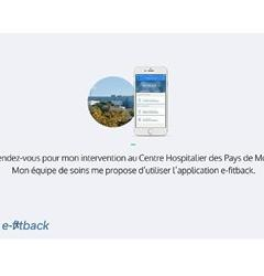 Application e-fitback