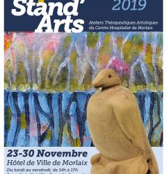 Affiche stand arts